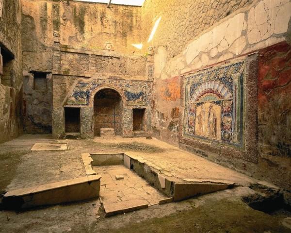 Casa di Nettuno e Anfitrite a Ercolano.