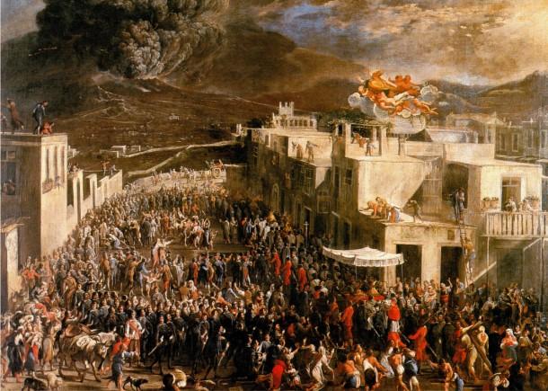 Eruzione Vesuvio 1631