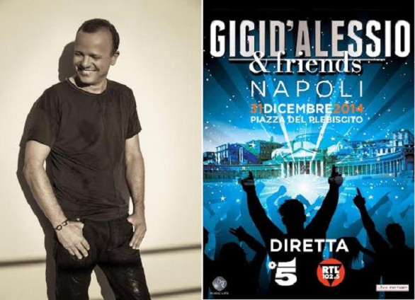 Gigi D'Alessio and friends