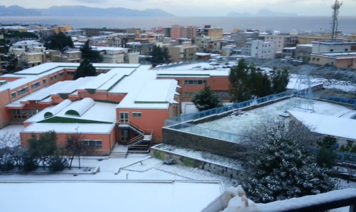 Neve a Torre del Greco