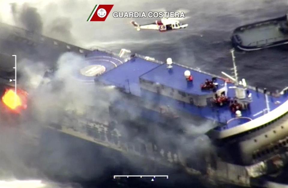 Norman Atlantic incidente