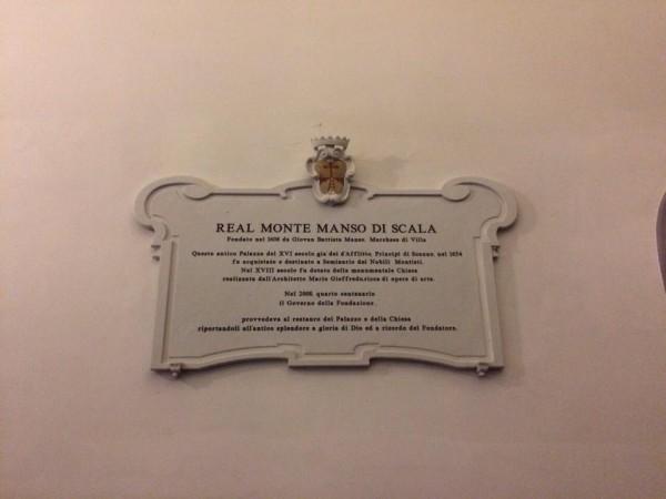 Real Monte Manso di Scala.
