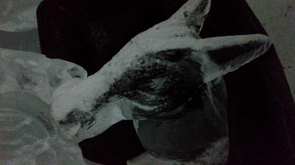 Scultura in ghioaccio