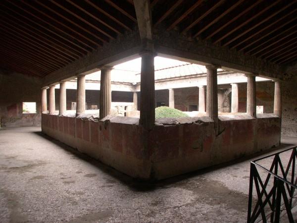 Peristilio Villa dei Misteri.