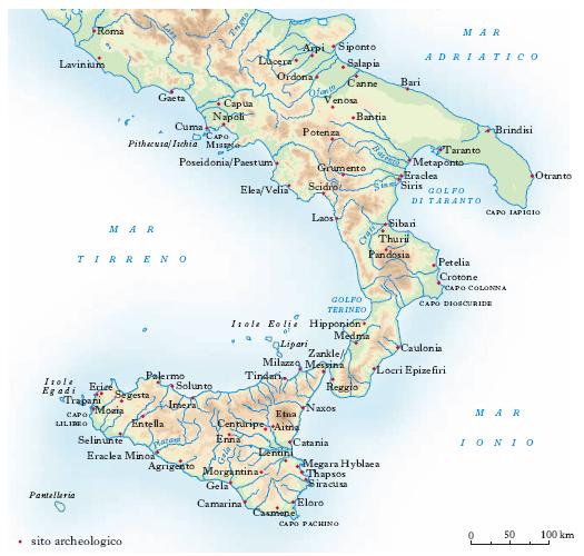 Metaponto Cartina Geografica.Napoli Cartina Muta