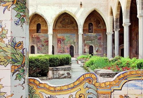 Chiostro Monastero di santa Chiara.