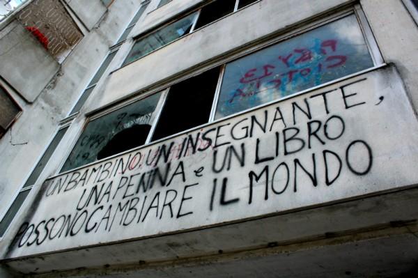 Edificio a Scampia.