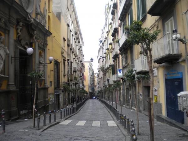Via San Sebastiano.