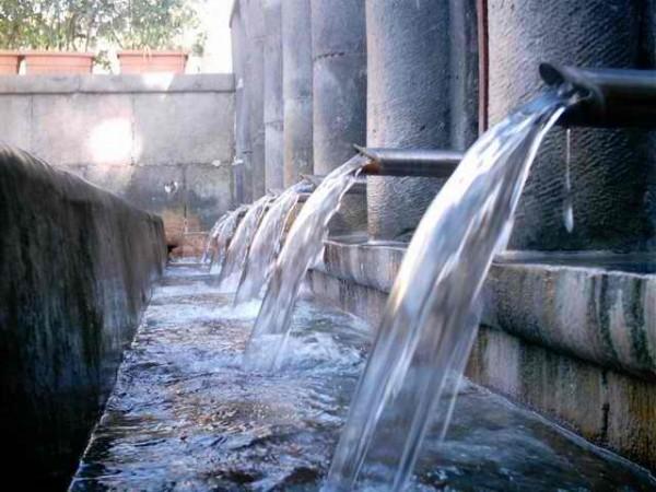 Antiche sorgenti Castellammare di Stabia.