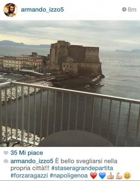 Armando Izzo foto Napoli