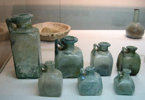 Collezioni presenti nell'Antiquarium, museo di Boscoreale.