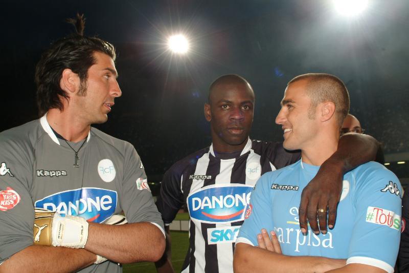 Buffon, Thuram, Cannavaro