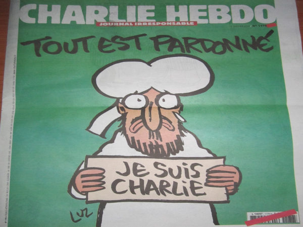 Charlie Hebdo 14 gennaio 2015