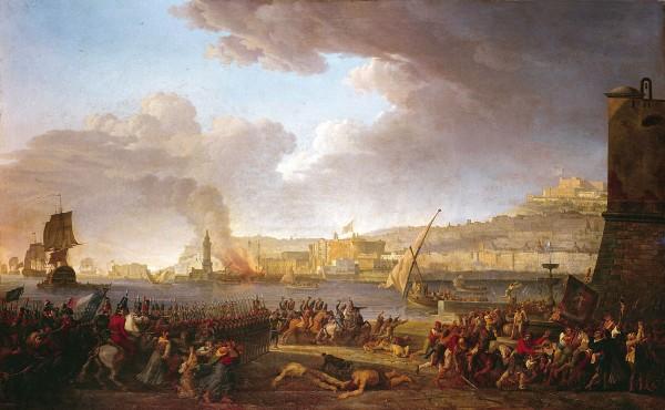 Entrata dei francesi a Napoli nel 1799