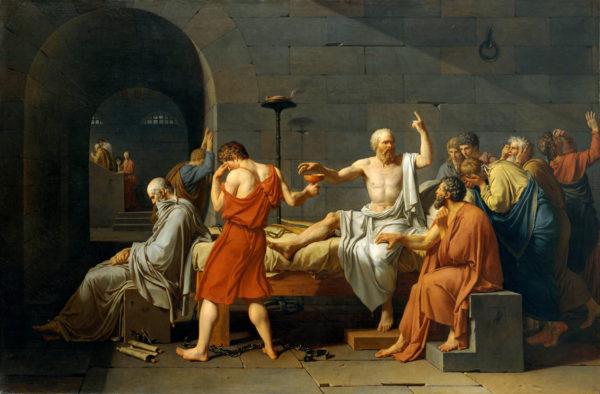 La-morte-di-Socrate-dipinto