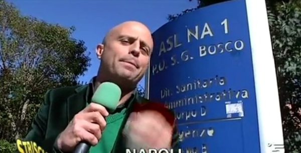 Luca Abete ospedale Don Bosco