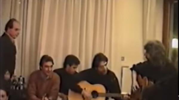 Pino Daniele canta Je so' pazzo con Maradona