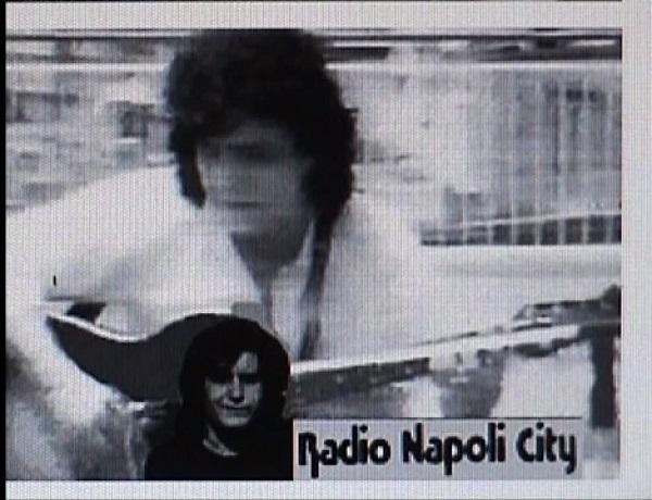 Pino Daniele a Radio Napoli City