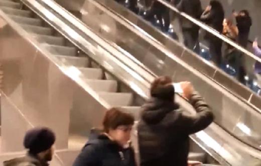 Pino Daniele, stazione metro Garibaldi