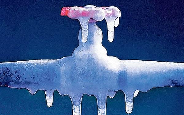 Rubinetto ghiacciato