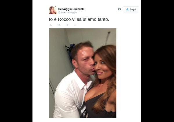 Selvaggia Lucarelli e Rocco Siffredi