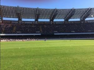 allenamento al San Paolo 1