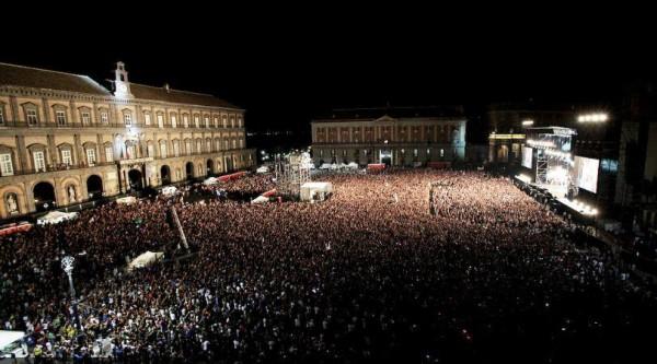 concerto piazza plebiscito