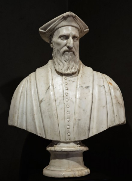 A Senator of the Republic of Genoa | Carved Marble | Genoa, Italy 1560