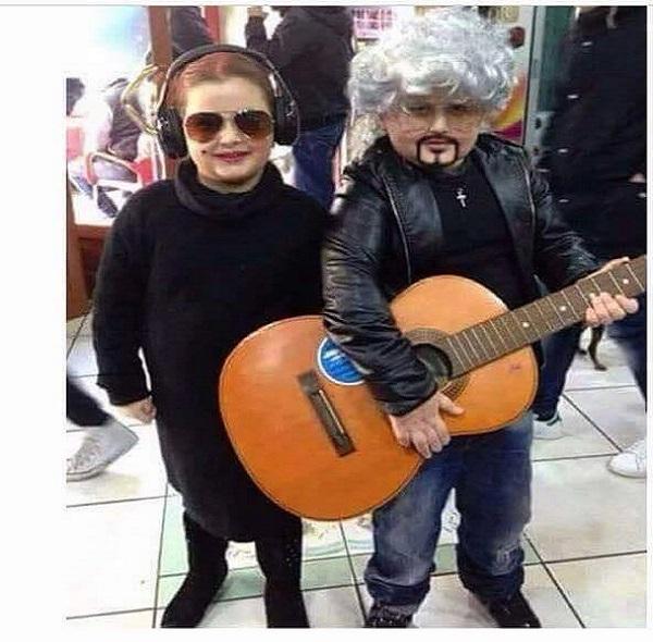 Baby Mina e Baby Pino Daniele