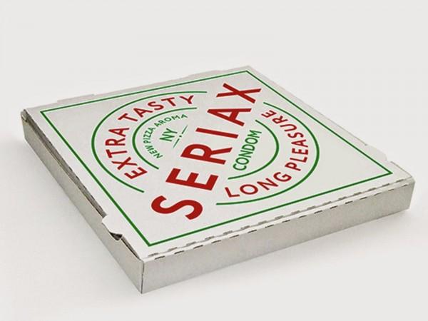 Condom pizza 1