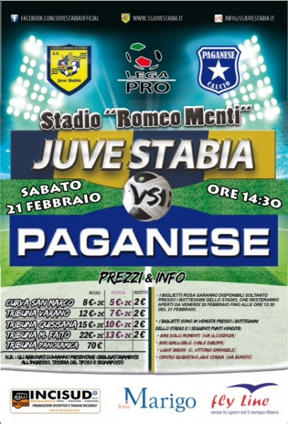 Juve Stabia-Paganese