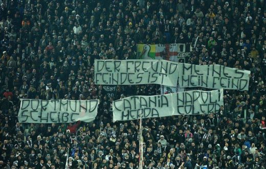 Juventus striscione