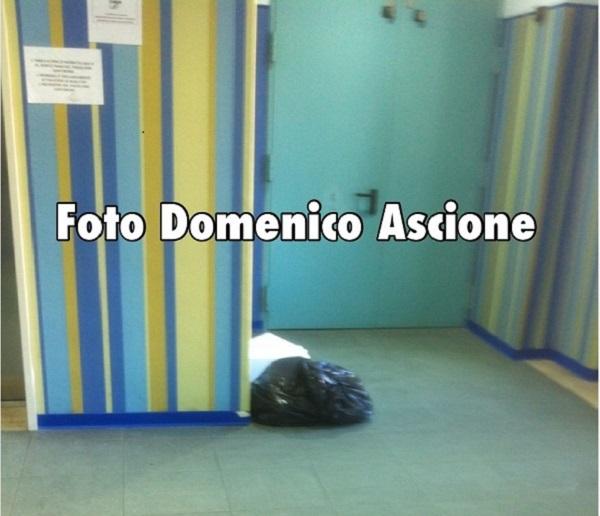 Ospedale Santobono- Spazzatura
