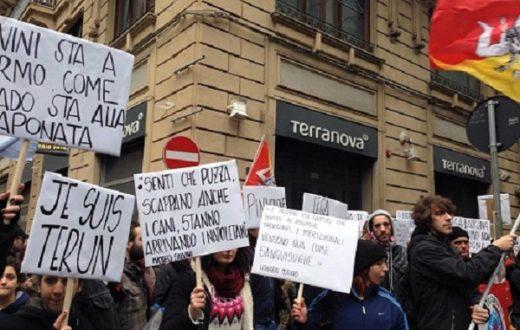 Protesta a Palermo
