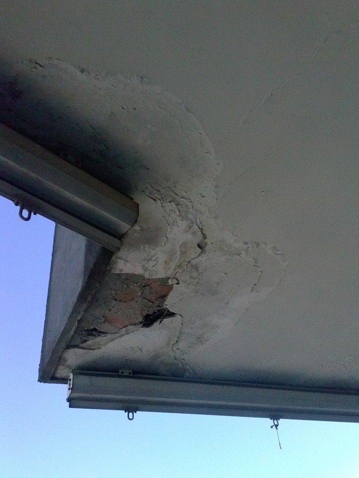 balconi scrostati