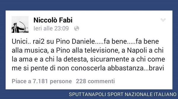 messaggio di Niccolò Fabi