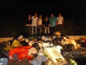 I volontari di Varcaturo