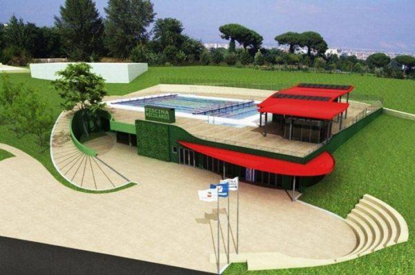Approvato il progetto della piscina pubblica in via for Piani del padiglione della piscina