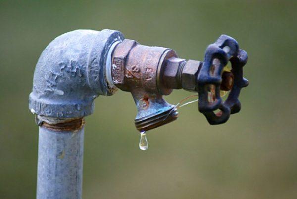 sospensione servizio idrico