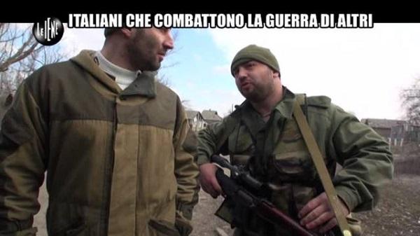 Cecchino italiano in Ucraina