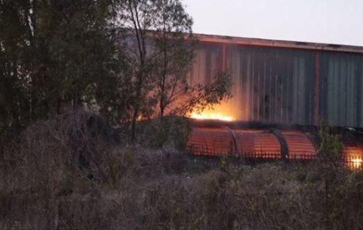 Incendio Bagnoli