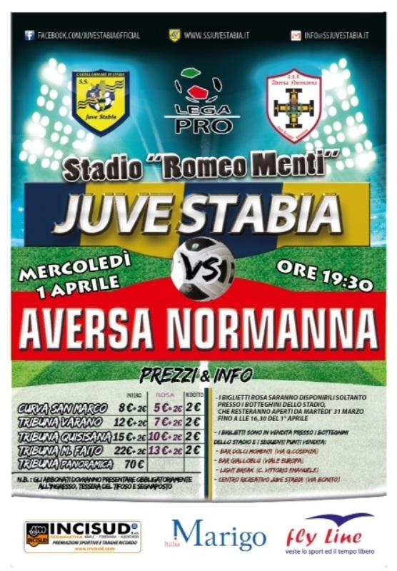 Juve Stabia-Aversa Normanna