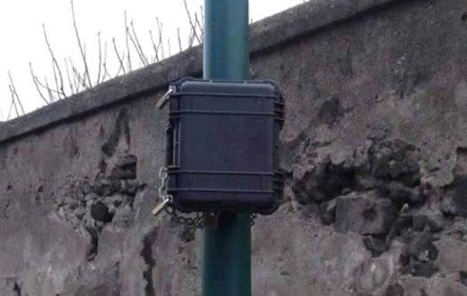 Pacco bomba Torre del Greco