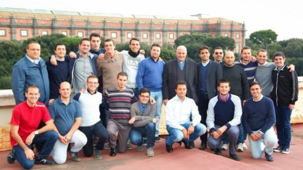 Padre Michele Betrò a Napoli