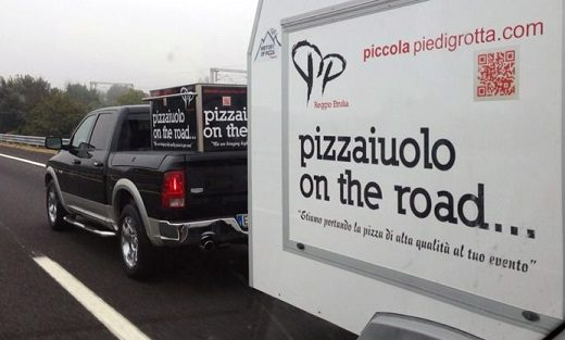Pizzaiuolo on the road