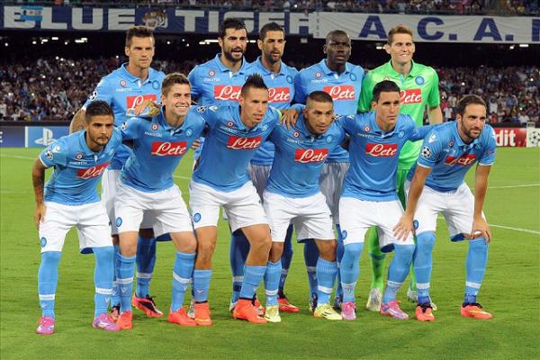 Rosa SSC Napoli