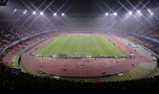 Stadio San Paolo notte