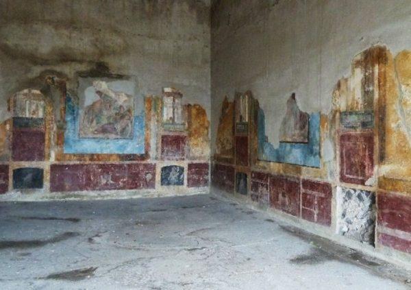 Il mito nella pittura antica gli affreschi di villa arianna for Piani di casa con stanza della torre