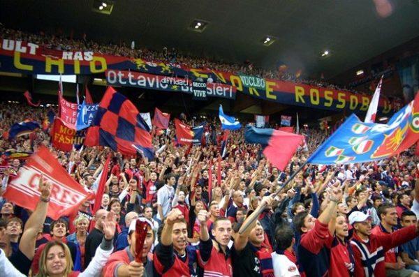 Video. Splendido legame tra Genova e Napoli, al Juventus Stadium i liguri inneggiano al Napoli