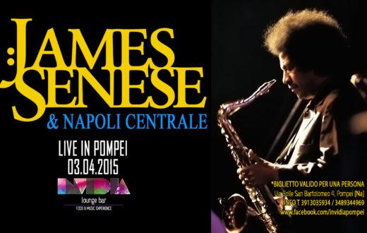 James Senese & Napoli Centrale, per la prima volta live a Pompei